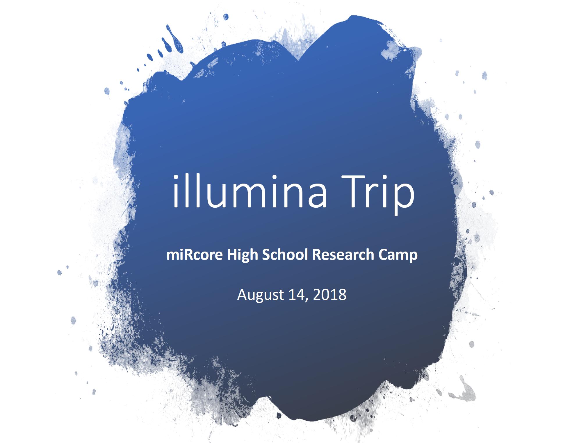 illumina trip1
